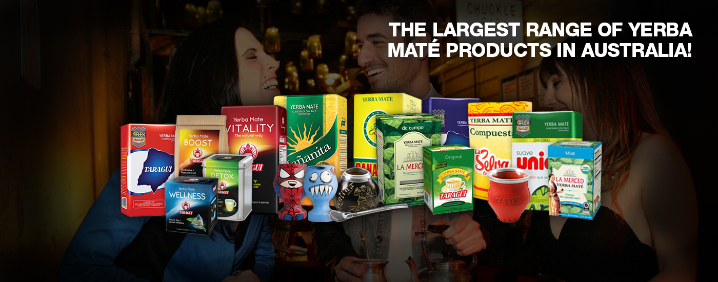 Largest Range of Yerba Mate